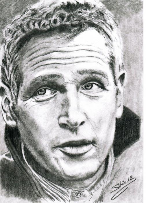 Paul Newman par SILVIA.MH.